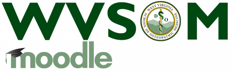 Logo of WVSOM Moodle
